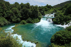 Krka falls Royalty Free Stock Photos