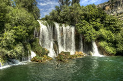 Krka falls Stock Photo