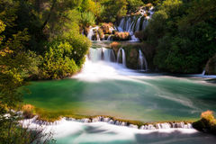 Krka falls Stock Photos