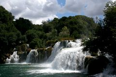 Krka Falls 3 Royalty Free Stock Images