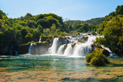 Krka Falls Royalty Free Stock Image