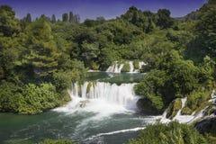 Krka-Fluss Stockbild