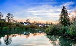 Krka-Fluss Lizenzfreie Stockbilder
