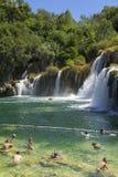 Krka Nationaal Park, Kroatië, 14 Augustus 2017 Stock Foto's