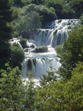 Krka National Park. Waterfall Krka National Park - Croatia Stock Images