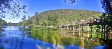 Krka national park in Croatia stock images