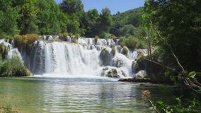Krka National Park Croatia stock video