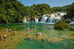 KRKA NATIONAL PARK, CROATIA Royalty Free Stock Photo