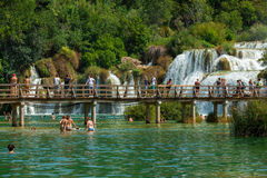 KRKA NATIONAL PARK, CROATIA Royalty Free Stock Photography
