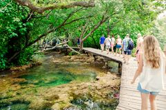 Krka national park in Croatia Royalty Free Stock Photos