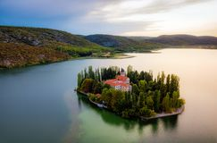 Krka National Park Croatia royalty free stock photos