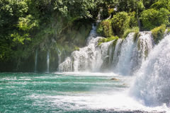 Krka national park in Croatia Royalty Free Stock Images
