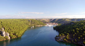 Krka National Park Krka Croatia Stock Photography