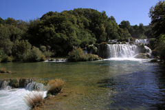 Krka National Park Skradinski Buk Stock Photos