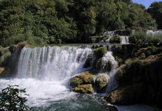 Krka National Park waterfalls Stock Image