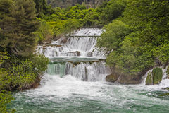 Krka nationalpark Arkivfoto