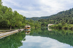 Krka nationalpark Royaltyfri Bild