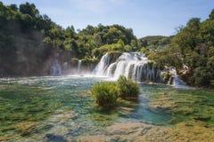 Krka nationalpark, Dalmatia, Kroatien royaltyfria foton
