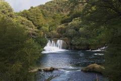 Krka Nationalpark in Kroatien Stockbilder