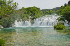 Krka Nationalpark, Kroatien Stockbild