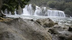 Krka Nationalpark in Kroatien stock video