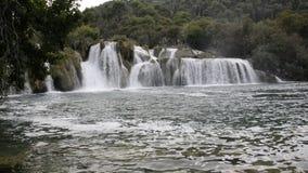 Krka Nationalpark in Kroatien stock footage