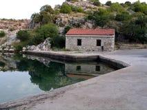 Krka river Stock Photography