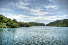 Krka River Royalty Free Stock Photography