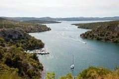 Krka River Stock Images