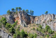 Krka river valley rocks Stock Photos