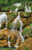 Krka river waterfalls in the Krka National Park, R Royalty Free Stock Image