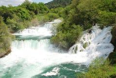 Krka siklawy, Chorwacja Zdjęcie Stock