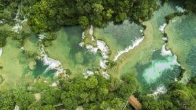 Krka vattenfall Arkivbild
