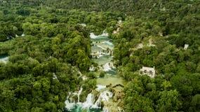 Krka vattenfall Arkivbilder