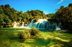 Krka vattenfall Royaltyfri Bild