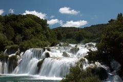 Krka Wasserfälle 1 Lizenzfreie Stockbilder