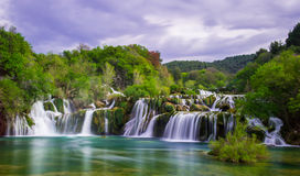 Krka Wasserfälle Lizenzfreies Stockbild