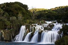 Krka Wasserfall lizenzfreie stockfotos