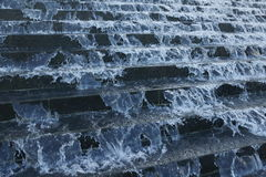 Krka Wasserfall-Nationalpark in Kroatien stockbild