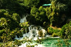 Krka waterfall Stock Images