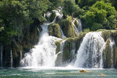 Krka waterfall Stock Photos