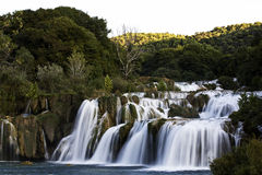 Krka waterfall Royalty Free Stock Photos