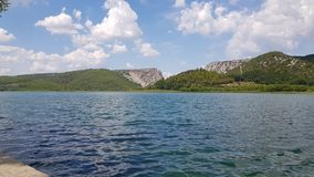 Krka lake stock images