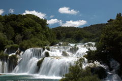 Krka waterfalls 1 Royalty Free Stock Images