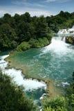 Krka waterfalls Stock Photography