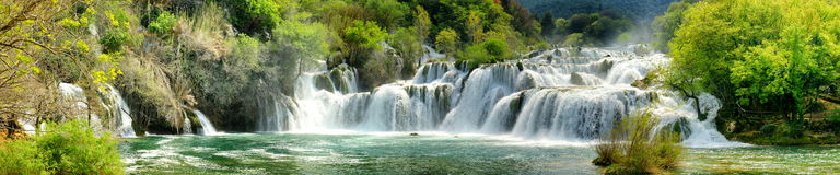 Krka Waterfalls Royalty Free Stock Image