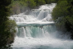 Krka waterfalls, Croatia Stock Image