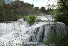Krka waterfalls, Croatia Royalty Free Stock Photography
