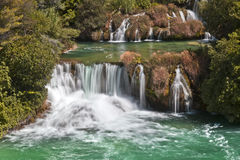 Krka Waterfalls National Park,Croatia Royalty Free Stock Images