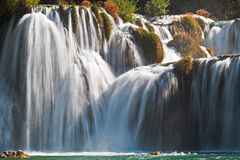 Krka Waterfalls National Park,Croatia Royalty Free Stock Image